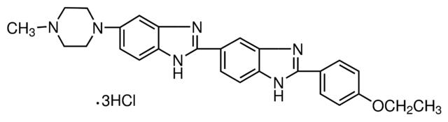 图片 赫斯特荧光染料Hoechst33342 [双苯并咪唑H33342三盐酸盐],bisBenzimide H 33342 trihydrochloride;for fluorescence, ≥97.0% (HPLC)