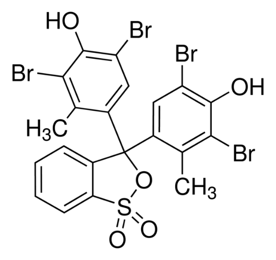 图片 溴甲酚绿磺酸内酯,Bromocresol Green Sultone Form [BCG];for microscopy (Bot., Hist., Vit.), indicator (pH 3.8-5.4)