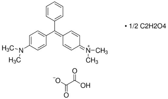 图片 孔雀绿草酸盐 [孔雀石绿],Malachite Green oxalate salt;Technical grade