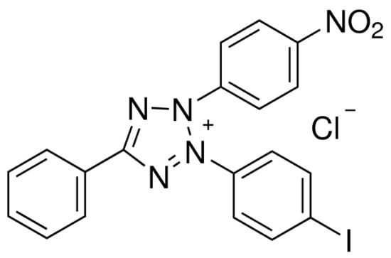 图片 氯化碘硝基四氮唑 [碘硝基氯化四氮唑蓝],Iodonitrotetrazolium chloride [INT];95%