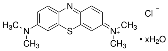 图片 亚甲基蓝 [亚甲蓝水合物],Methylene Blue hydrate;≥95% (calc. to the dried substance)