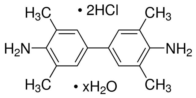 图片 3,3′,5,5′-四甲基联苯胺二盐酸盐水合物 [TMB二盐酸盐],3,3′,5,5′-Tetramethylbenzidine dihydrochloride hydrate;97%
