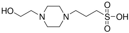 图片 4-(2-羟乙基)-1-哌嗪丙磺酸,EPPS [HEPPS];BioPerformance Certified, suitable for cell culture, ≥99.5% (titration)