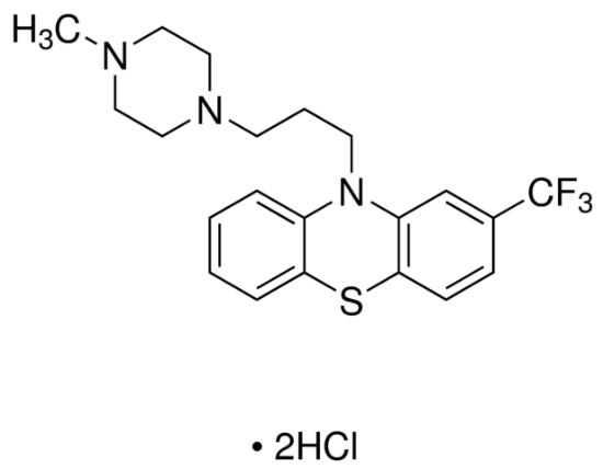图片 三氟拉嗪二盐酸盐,Trifluoperazine dihydrochloride;meets USP testing specifications, 98-101% dry basis