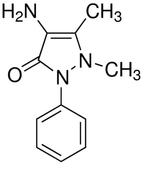 图片 4-氨基安替比林,4-Aminoantipyrine;analytical standard, ≥99.0% (HPLC)