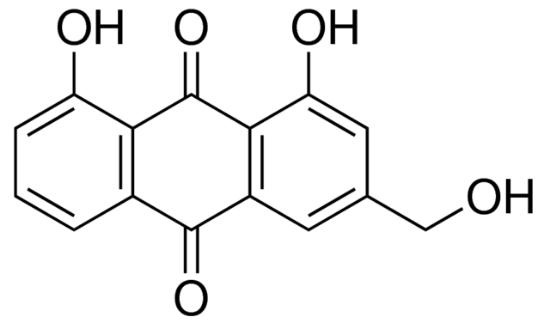 图片 芦荟大黄素 [弹力素],Aloe-emodin;analytical standard, ≥97.0% (HPLC)