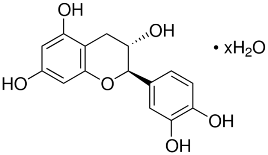 图片 (+)-儿茶素水合物,(+)-Catechin hydrate;≥96.0% (sum of enantiomers, HPLC)