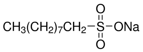 图片 1-壬烷磺酸钠,Sodium 1-nonanesulfonate;suitable for ion pair chromatography, LiChropur™, ≥99.0% (T)