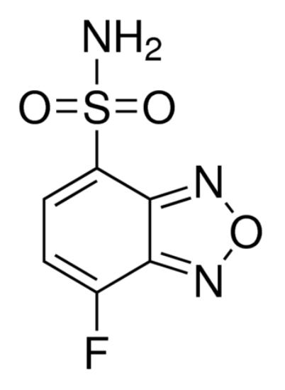 图片 4-氟-7-氨磺酰基苯并呋喃,4-Fluoro-7-sulfamoylbenzofurazan [ABD-F];≥98.0%