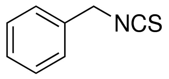 图片 异硫氰酸苯甲酯,Benzyl isothiocyanate;analytical standard, ≥98.5% (GC)