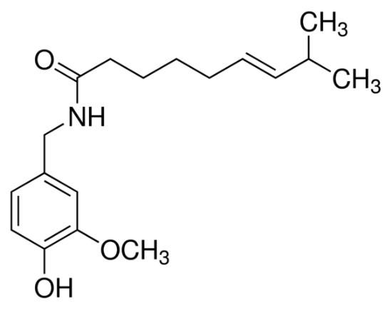 图片 辣椒碱 [辣椒素],Capsaicin;analytical standard, ≥98.5% (HPLC)
