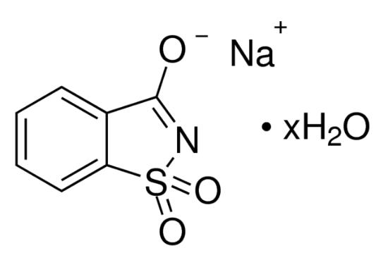 图片 糖精钠盐水合物,Saccharin sodium salt hydrate;≥98.0% (titration)