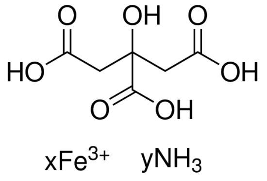 图片 柠檬酸铁铵,Ammonium iron(III) citrate;reagent grade, powder