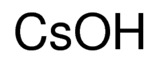 图片 氢氧化铯一水合物,Cesium hydroxide monohydrate;99.95% trace metals basis
