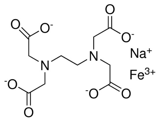 图片 乙二胺四乙酸铁(III)钠盐,Ethylenediaminetetraacetic acid iron(III) sodium salt;powder
