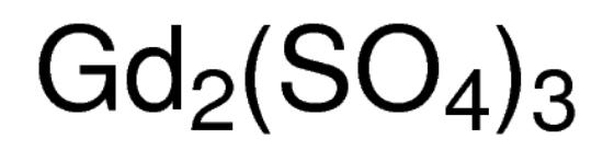 图片 硫酸钆(III),Gadolinium(III) sulfate;≥99.99% trace metals basis