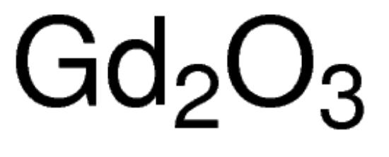 图片 氧化钆(III),Gadolinium(III) oxide;nanopowder, <100 nm particle size (BET), 99.8% trace metals basis
