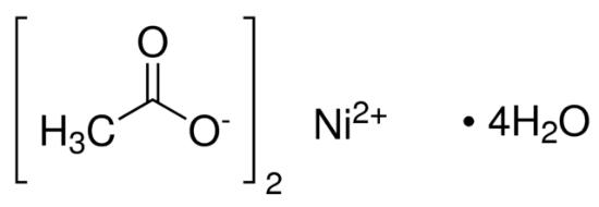 图片 乙酸镍(II)四水合物,Nickel(II) acetate tetrahydrate;98%