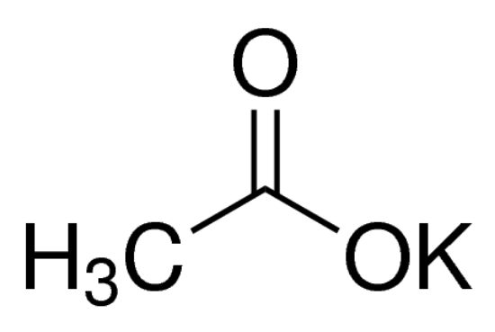 图片 乙酸钾,Potassium acetate;BioUltra, for molecular biology, ≥99.0% (NT)