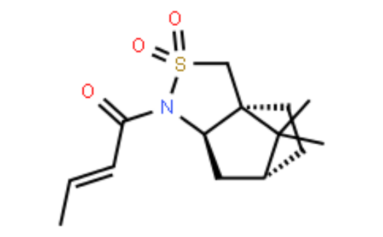 图片 (R)-(-)-(2-丁烯酰)-2,10-樟脑磺内酰胺,(R)-(-)-(2-Butenoyl)-2,10-camphorsultam;≥99.0%