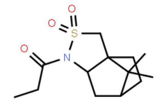 图片 (R)-(-)-丙酰基-2,10-樟脑磺内酰胺,(R)-(-)-Propionyl-2,10-camphorsultam;99%