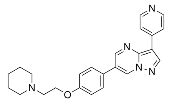 图片 AMPK抑制剂,Dorsomorphin;≥98% (HPLC)