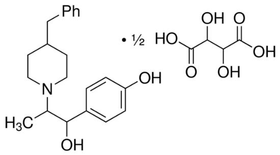 图片 酒石酸艾芬地尔,Ifenprodil (+)-tartrate salt;≥98%
