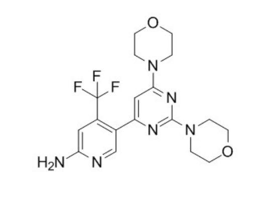 图片 布帕西布,Buparlisib [BKM120];≥99% (HPLC)