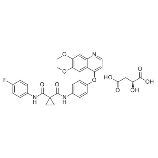 图片 卡博替尼苹果酸盐,Cabozantinib malate;≥99% (HPLC)