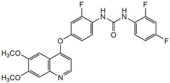 图片 Ki8751,[VEGFR2 Kinase Inhibitor VI];≥97% (HPLC)