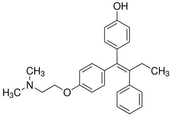 图片 (Z)-4-羟三苯氧胺 [4-羟基他莫昔芬],(Z)-4-Hydroxytamoxifen [(Z)-4-OHT];≥98% Z isomer