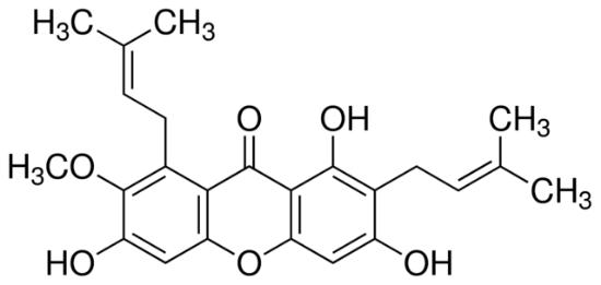 图片 α-倒捻子素,α-Mangostin;≥98% (HPLC)