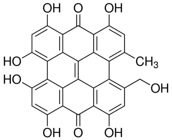 图片 伪金丝桃素 [标准品],Pseudohypericin;analytical standard, ≥98.0% (HPLC)