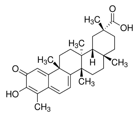 图片 雷公藤红素 [南蛇藤醇],Celastrol;≥98% (HPLC), solid