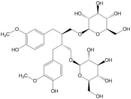 图片 亚麻木酚素,Secoisolariciresinol diglucoside [SDG];≥97% (HPLC)