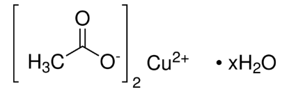 图片 乙酸铜一水合物,Copper(II) acetate monohydrate;99.99% trace metals basis