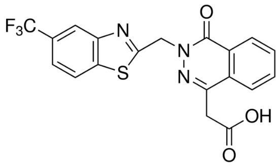 图片 唑泊司他,Zopolrestat;≥98% (HPLC)