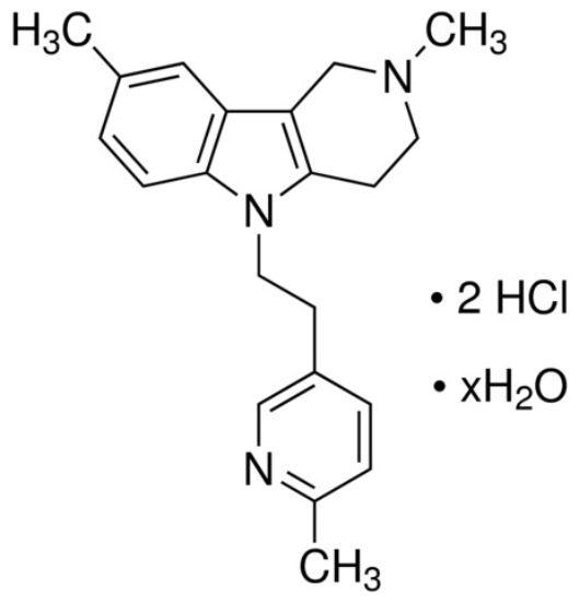 图片 Dimebon dihydrochloride hydrate,≥98% (HPLC)