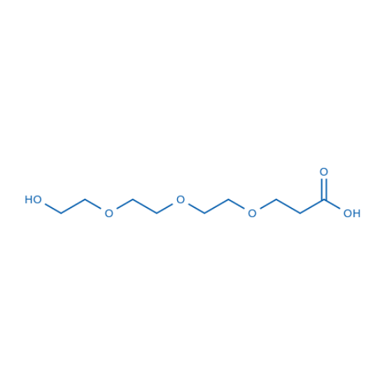 图片 3-(2-[2-(2-羟基乙氧基)乙氧基]乙氧基)丙酸,3-(2-[2-(2-HYdroxyethoxy)ethoxy]ethoxy) propanoic acid;98%