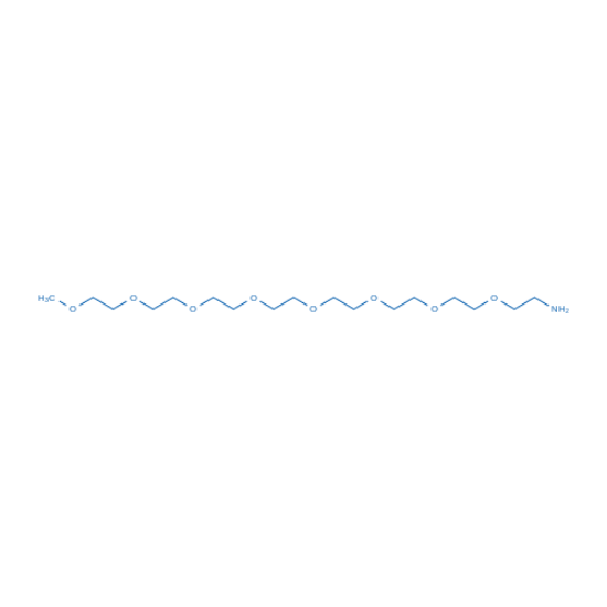 图片 2,5,8,11,14,17,20,23-八氧杂二十五烷-25-胺,2,5,8,11,14,17,20,23-Octaoxapentacosan-25-amine;≥98%