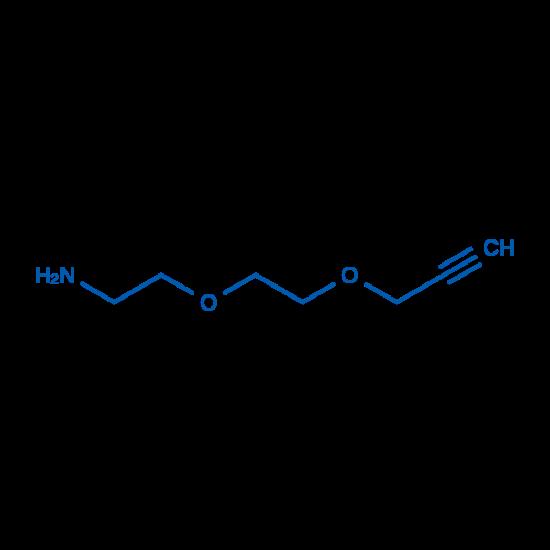 图片 2-(2-(丙-2-炔-1-基氧基)乙氧基)乙胺,2-[2-(2-Propynyloxy)ethoxy]ethylamine;98%