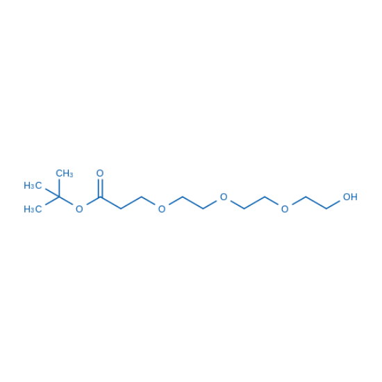 图片 12-羟基-4,7,10-三氧杂十二酸叔丁酯,tert-Butyl 12-Hydroxy-4,7,10-trioxadodecanoate;97%