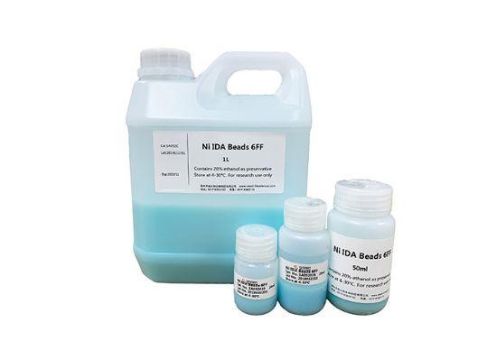 图片 镍金属螯合亲和填料 [His标签蛋白],Ni IDA Beads 6FF