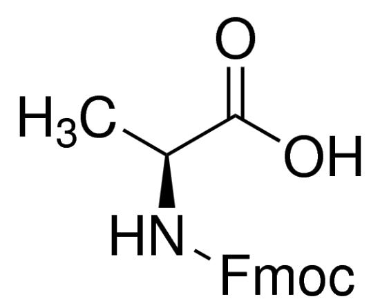 图片 Fmoc-L-丙氨酸,Fmoc-Ala-OH;95%