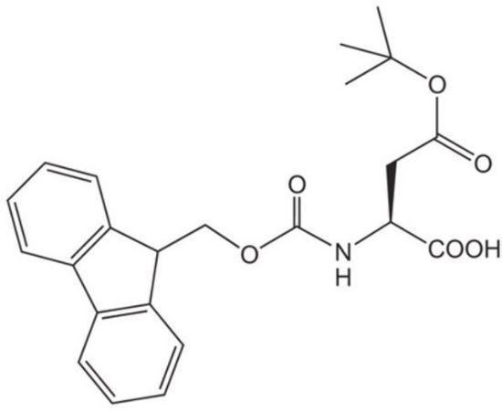 图片 Fmoc-L-天冬氨酸4-叔丁酯,Fmoc-Asp(OtBu)-OH;Novabiochem®, ≥ 99.0% (a/a)