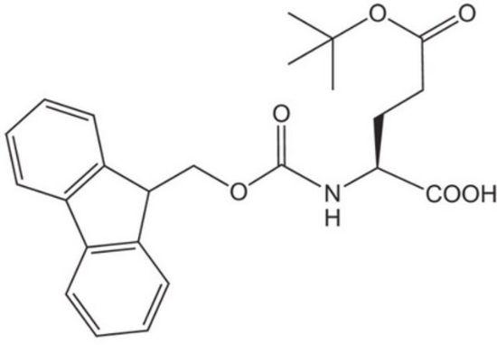 图片 Fmoc-O-叔丁基-L-谷氨酸,Fmoc-Glu(OtBu)-OH;Novabiochem®, ≥99.0% (a/a)