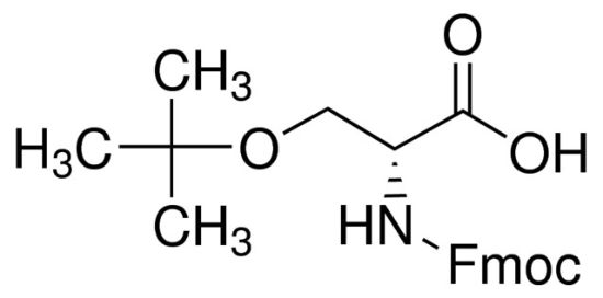 图片 Fmoc-O-叔丁基-D-丝氨酸,Fmoc-D-Ser(tBu)-OH;≥98.0% (TLC)