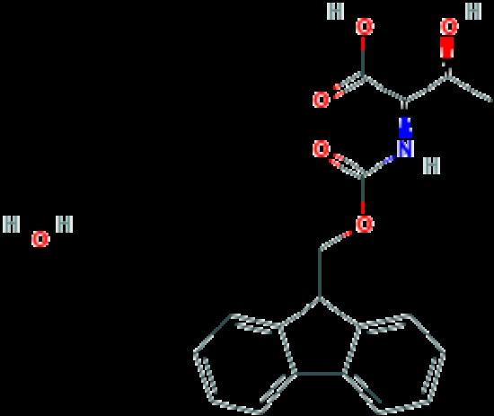 图片 Fmoc-D-苏氨酸水合物,Fmoc-D-Thr-OH Hydrate;≥99%