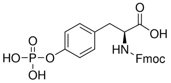 图片 Fmoc-O-磷酸基-L-酪氨酸,Fmoc-Tyr(PO3H2)-OH;≥95.0% (HPLC)