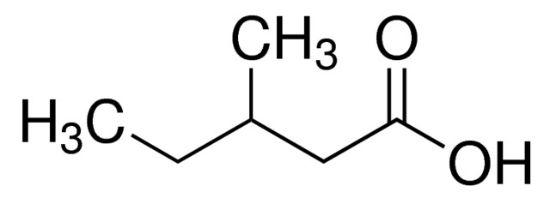 图片 3-甲基戊酸,3-Methylvaleric acid;97% (GC)
